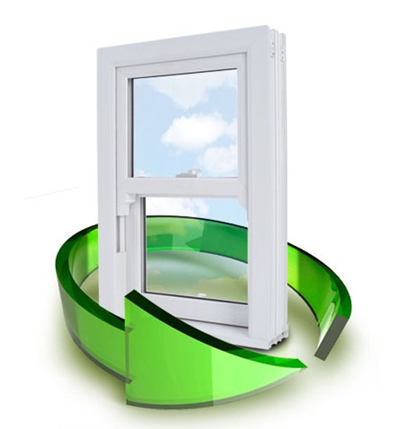 Triple glazing with recycled uPVC Surrey