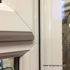 Storm-proof casement - PVC double glazed window