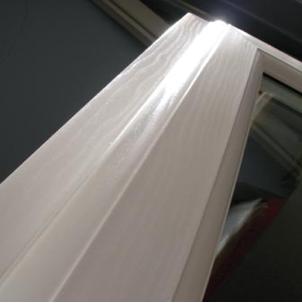 White Foil PVC windows