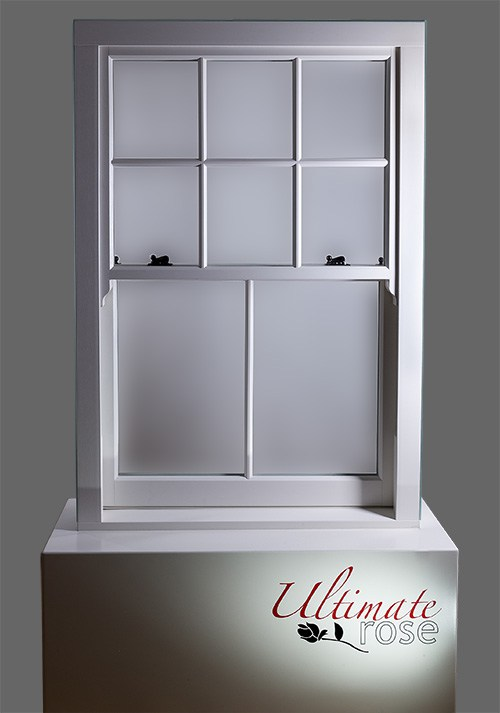 Ultimate Rose sliding sash window