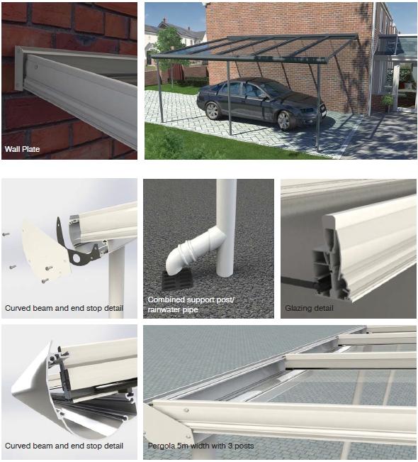 Pergola canopy roof