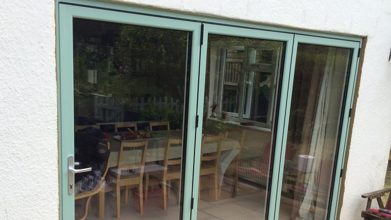 Folding Doors Product : Bi folding doors aluminium andover