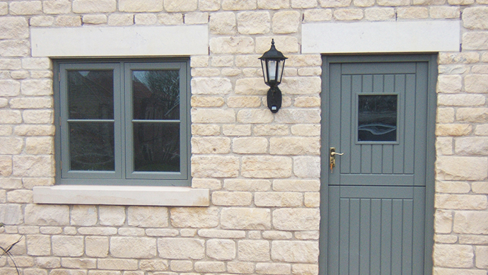 Cottage doors supplier in hampshire kjm in andover for Adding onto a manufactured home