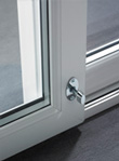 Interlock secure sliding patio doors