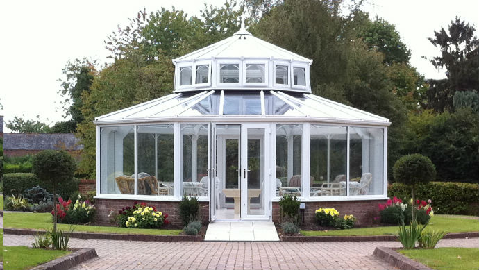 Lantern Conservatory in Pewsey Wiltshire