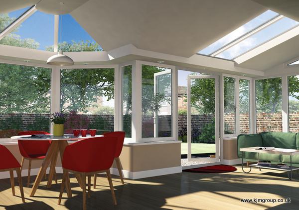 Livinroof Conservatory Living Roof Windows Amp Doors Kjm