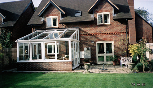 Modern Conservatory with high roof
