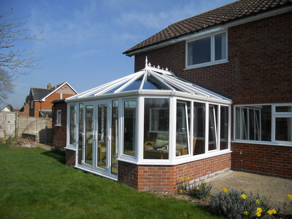 Victorian Conservatory with Pilkington Activ Blue glass
